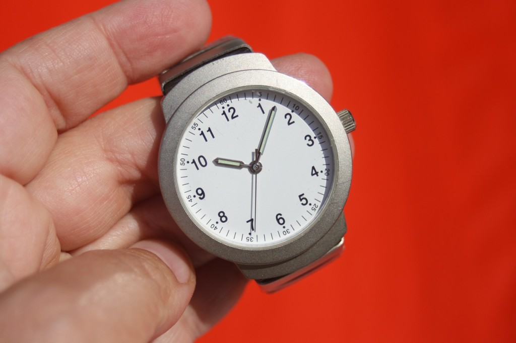 Time Wrist Watch Time Indicating Stopwatch Clock