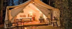 Glamping in Britain